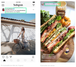instagram partenariat influenceur