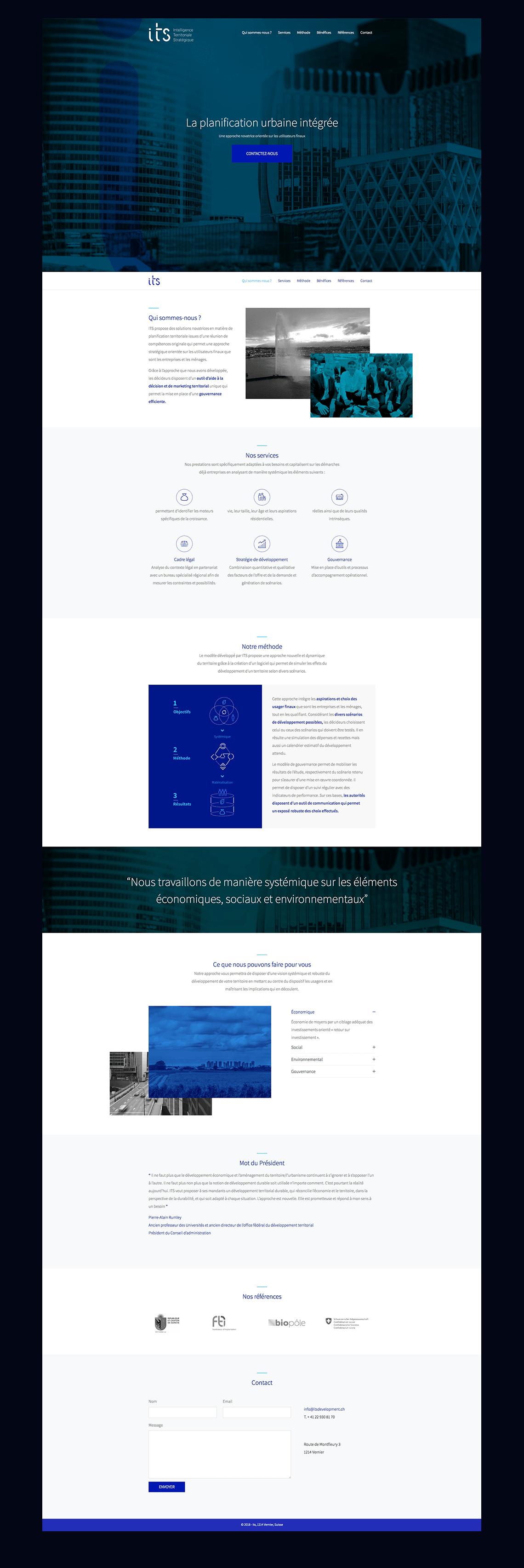 projet its site web